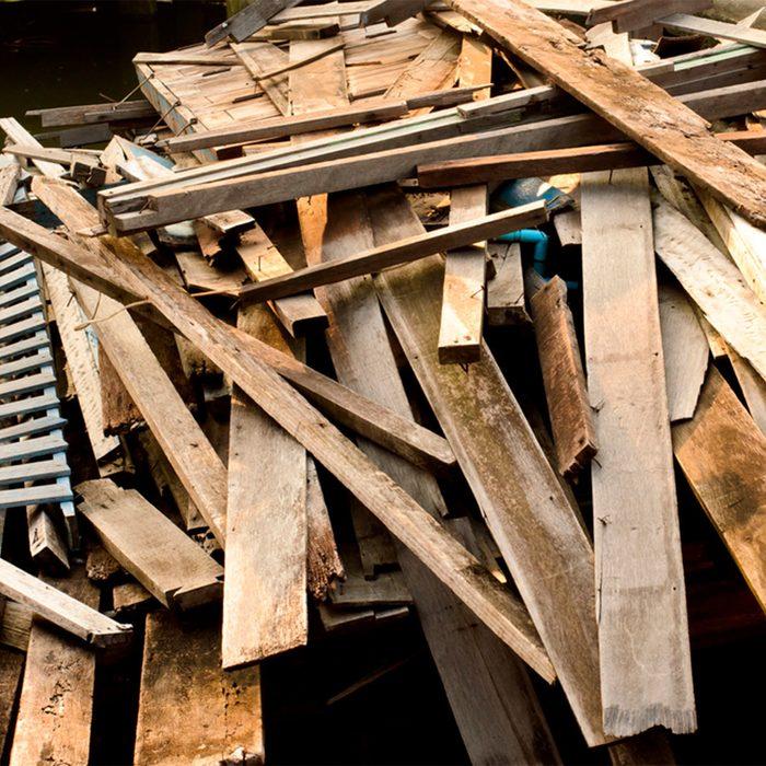 Repurpose Used or Leftover Building Materials