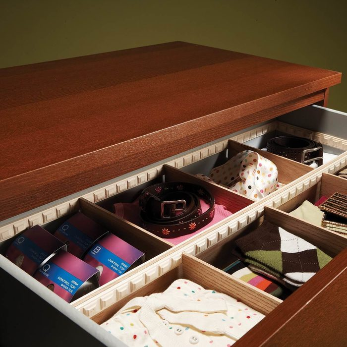Organize with Drawer Dividers