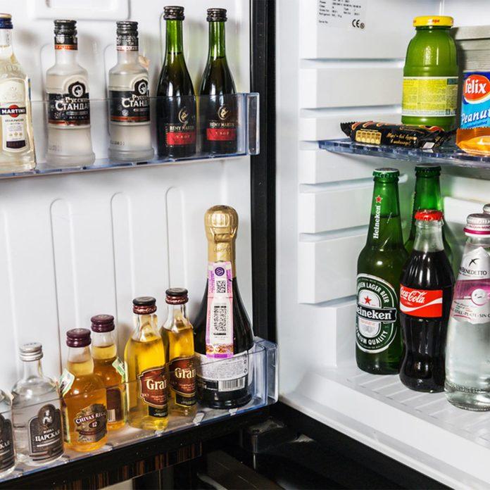 home bar refrigerator