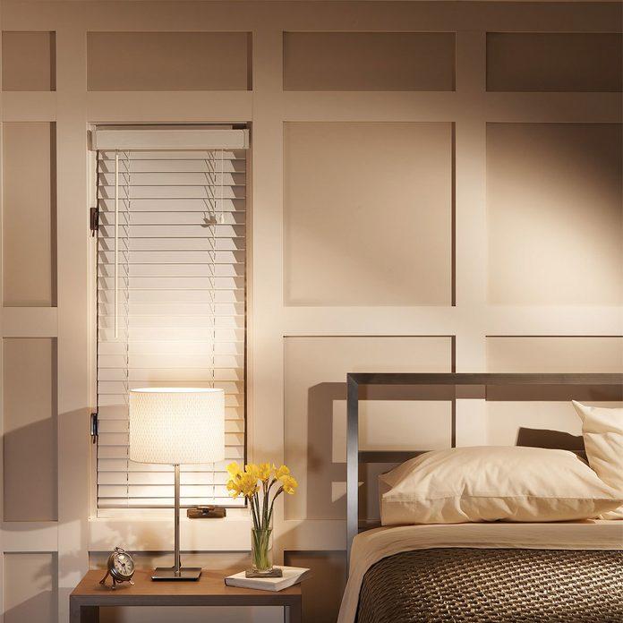 Paneled Panache bedroom wall