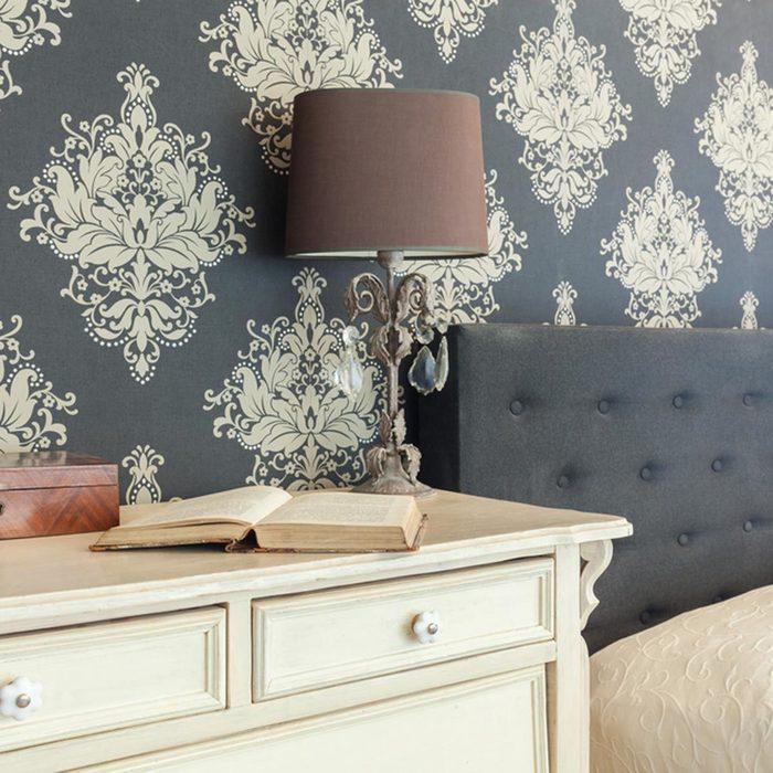Master Bedroom Accent Wall: Wallpaper