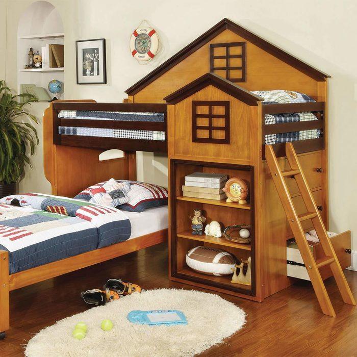 Citadel House Dual Loft Beds