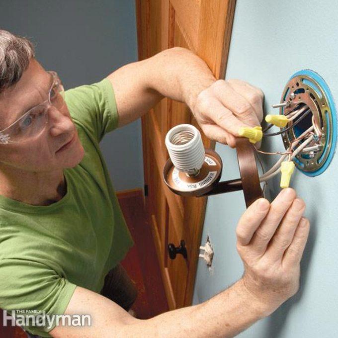 Install Better Lighting