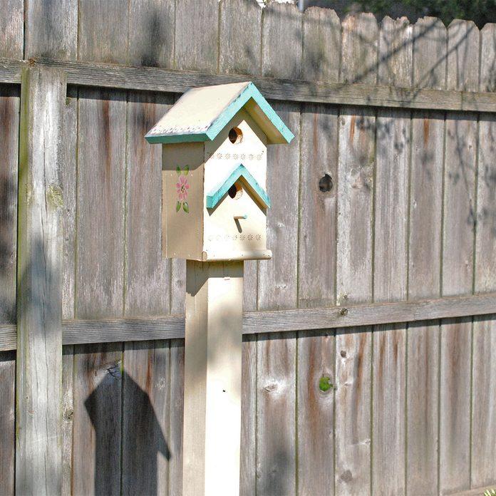 birdhouse post