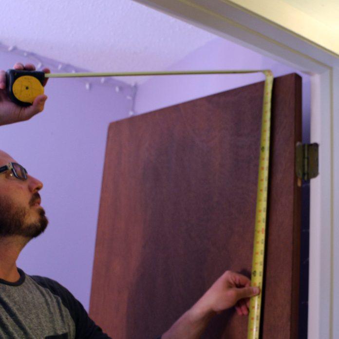 measure existing door