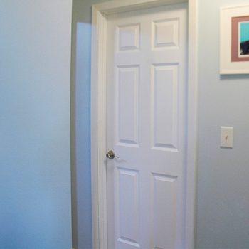 replace an interior door