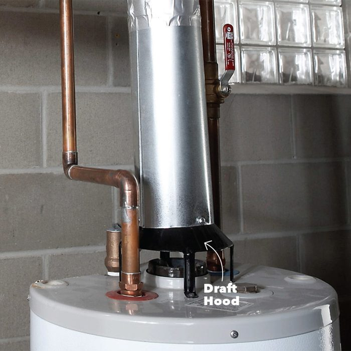 Dr. Seuss water heater venting - The right way: