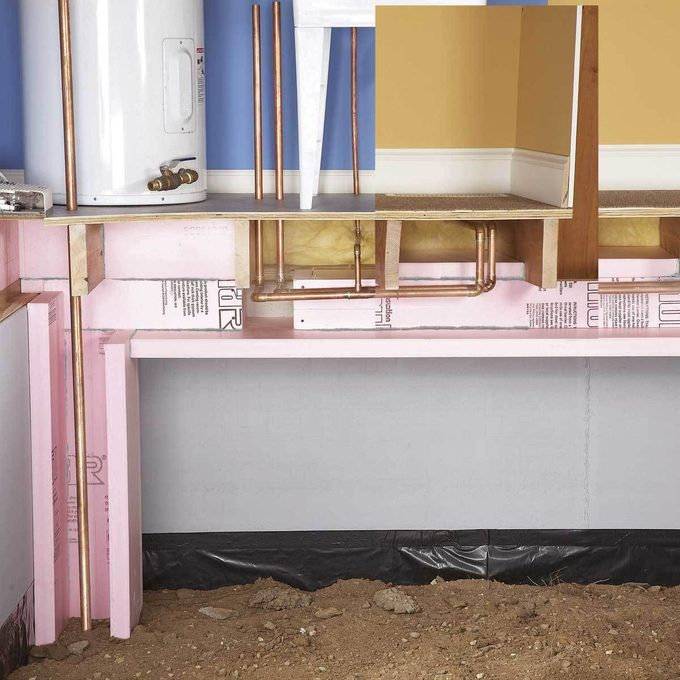 Insulate Hot Water Pipes