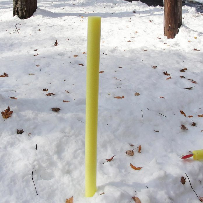 High-Visibility Boundary Marker pool noodle