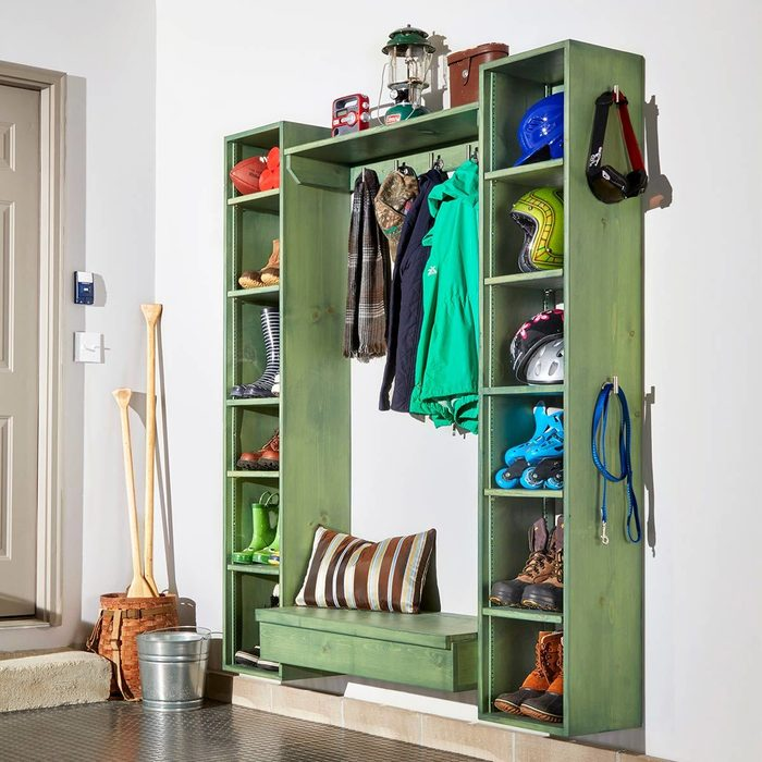 Mudroom Cubbies for Days