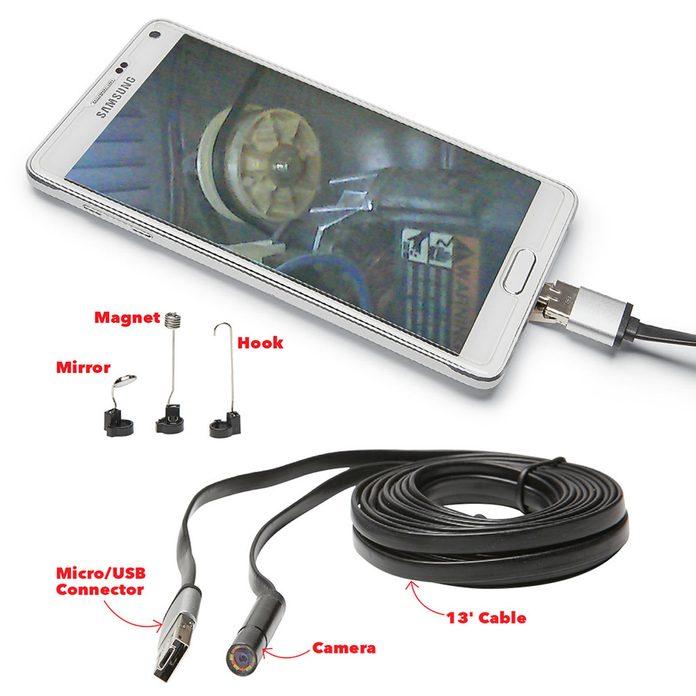 Smartphone inspection camera