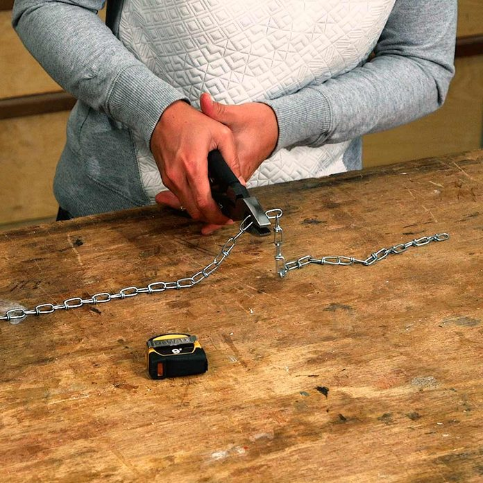 cut chain to length