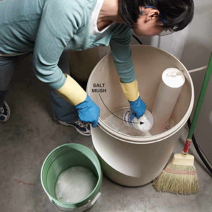 Clean Out the Brine Tank