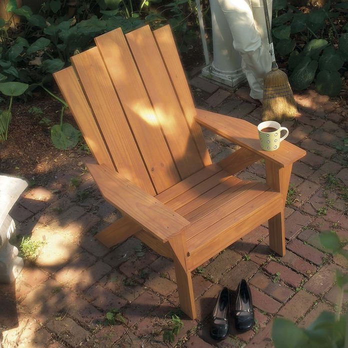 comfortable adirondack chair
