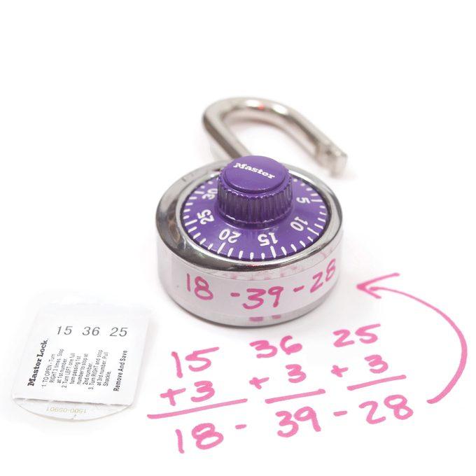 Secret Lock Code