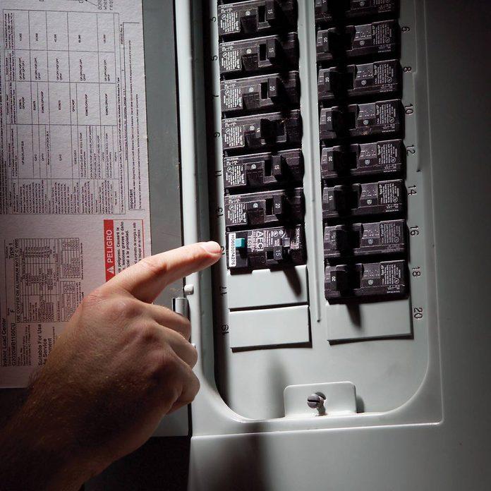 Understand Electrical circuit breaker box