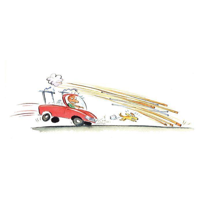 Fastest way to unload lumber