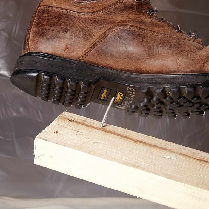 Nail In Boot