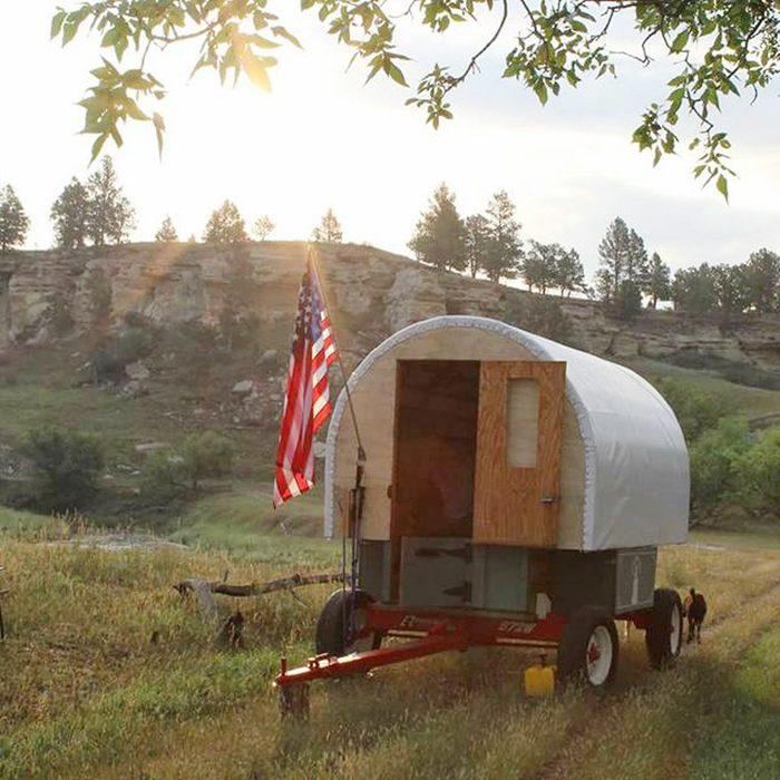 Sheepherder's Wagon