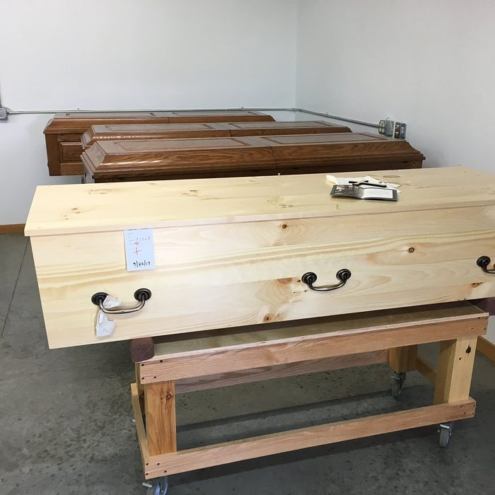 Coffins Awaiting Blessing   Construction Pro Tips