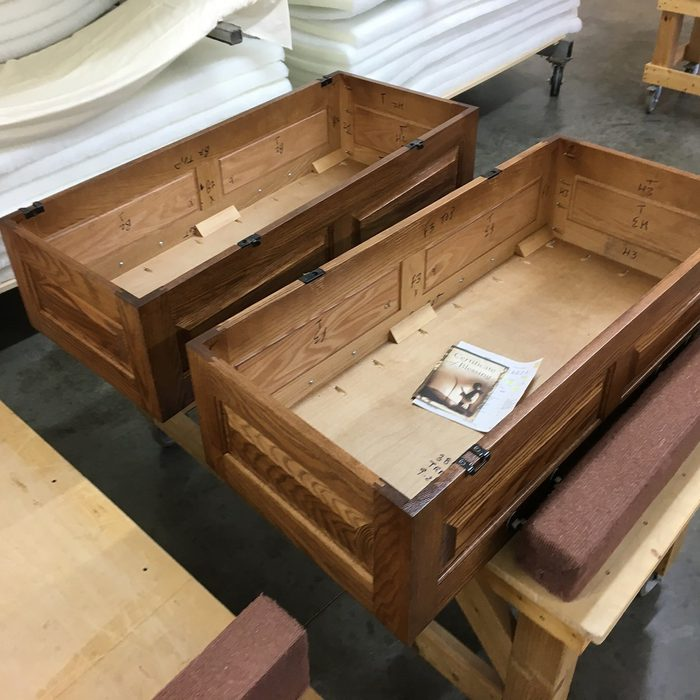 Two child-sized coffins   Construction Pro Tips