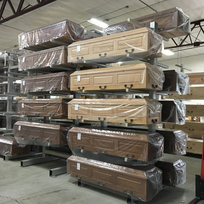 Caskets set aside and ordered   Construction Pro Tips