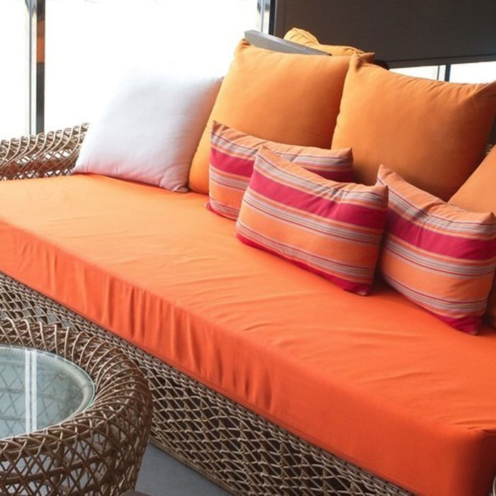 Wash Patio Cushions