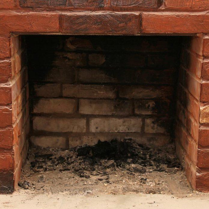 dfh17sep042-04 brick fireplace dirty damper
