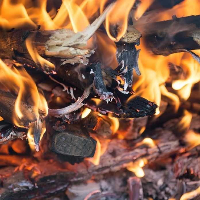 how to add kindling to a fireplace
