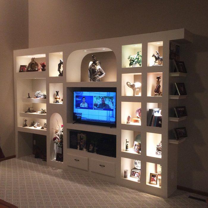 Customized Showcase Wall