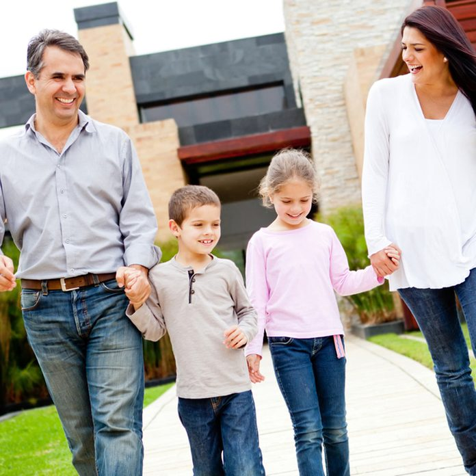 shutterstock_98814356-1200x1200 family happily walking and holding hands buying a home smart homeowner