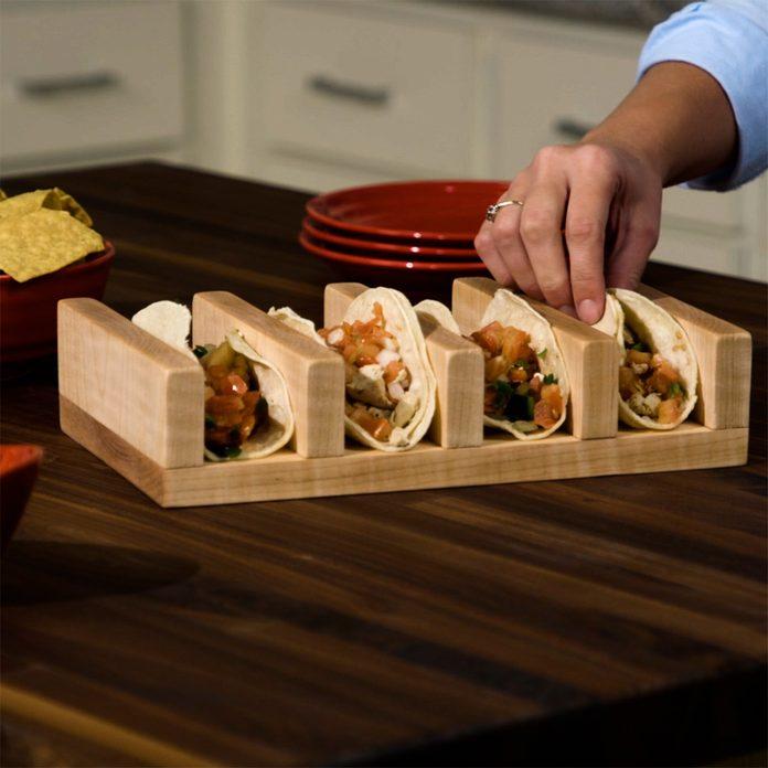 taco holder finished