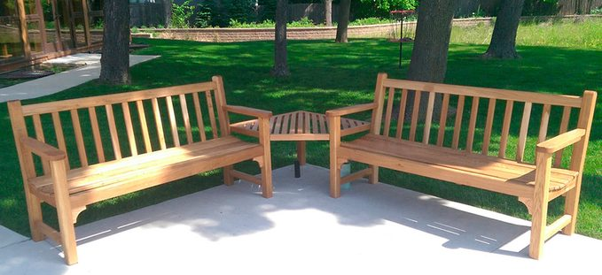 classic garden bench reader project sized