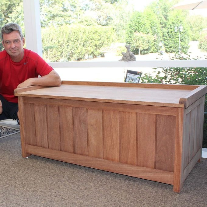 Billy Keith storage bench project