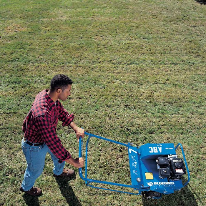 Aerate to Allow Roots to Spread