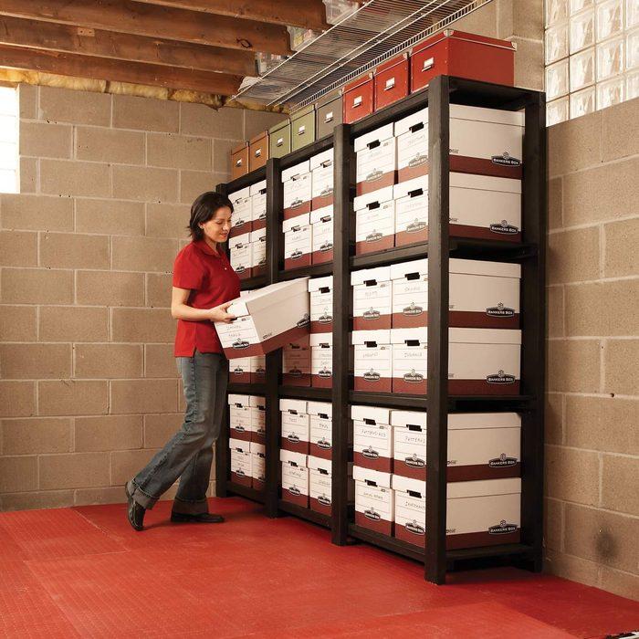 FH07JUN_482_00_099 heavy duty storage shelves basement