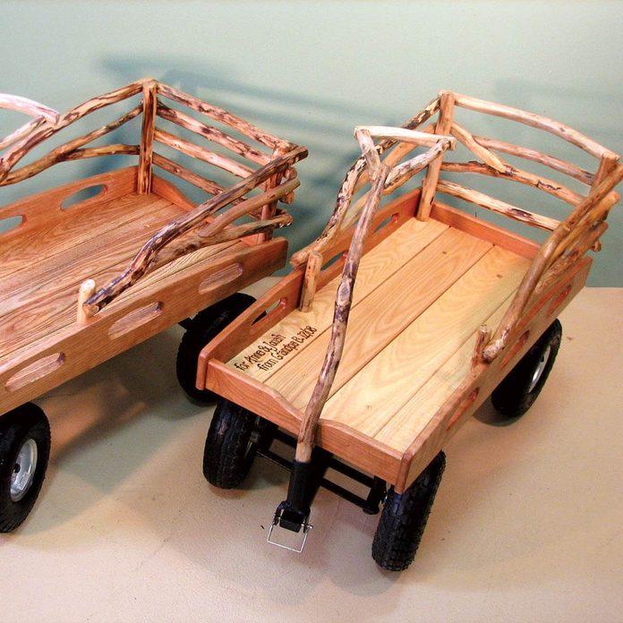 Deluxe hardwood wagon