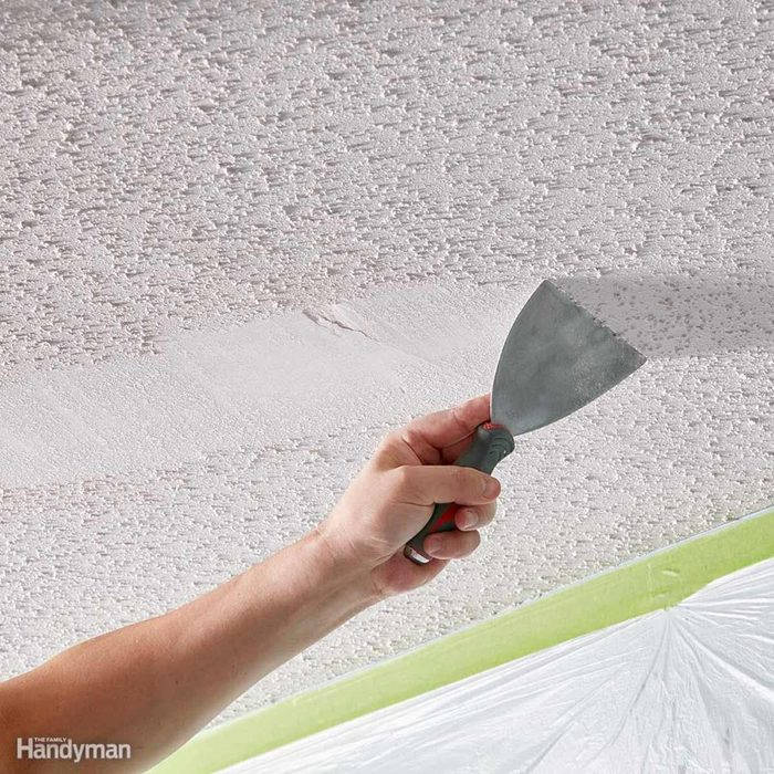 Dated: Popcorn Ceilings