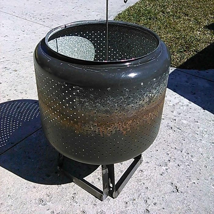 Cool Fire Pit Ideas: Washer Tub