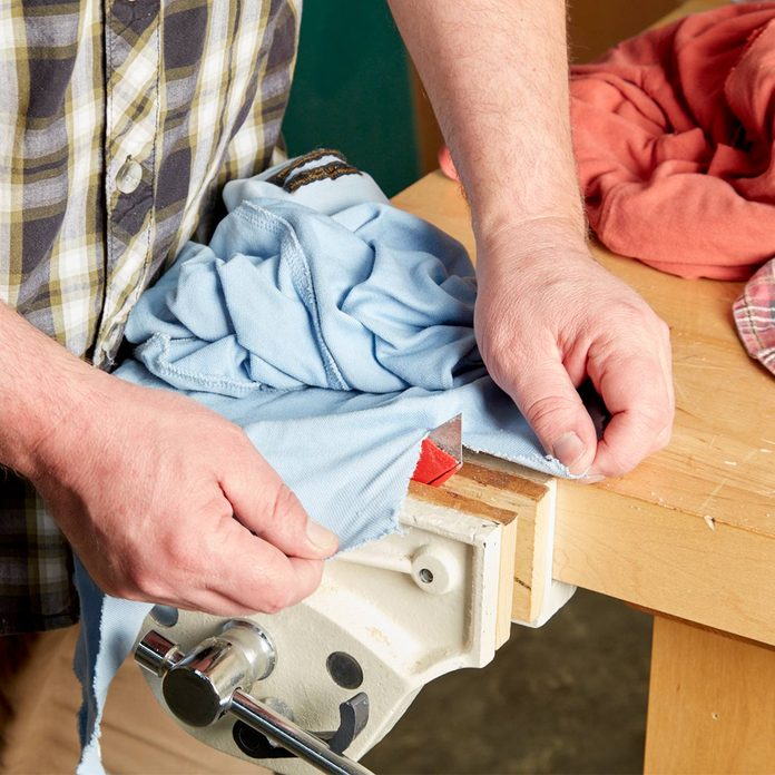 handy hint rag cutter