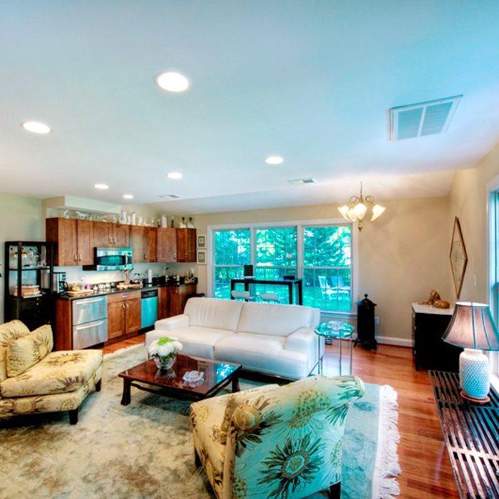 Light-filled suite