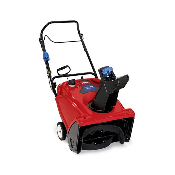 What is a single-stage snow blower?