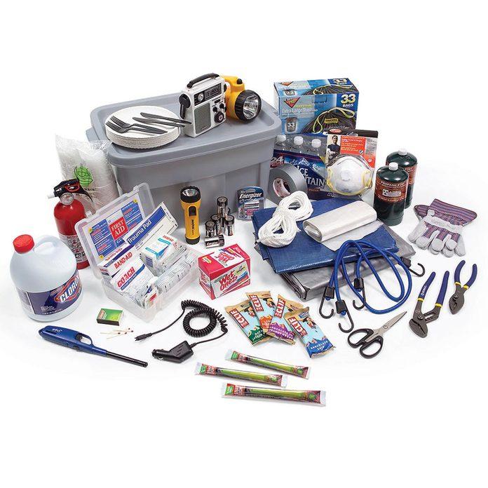 Supplies storm kit