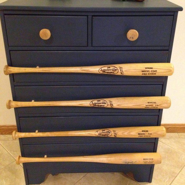 Baseball Bat Dresser