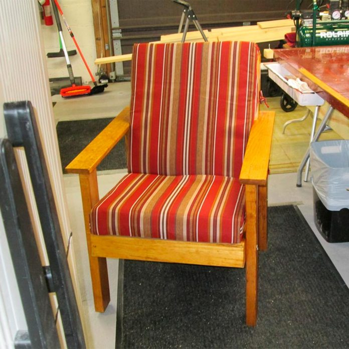 reader perfect patio chair