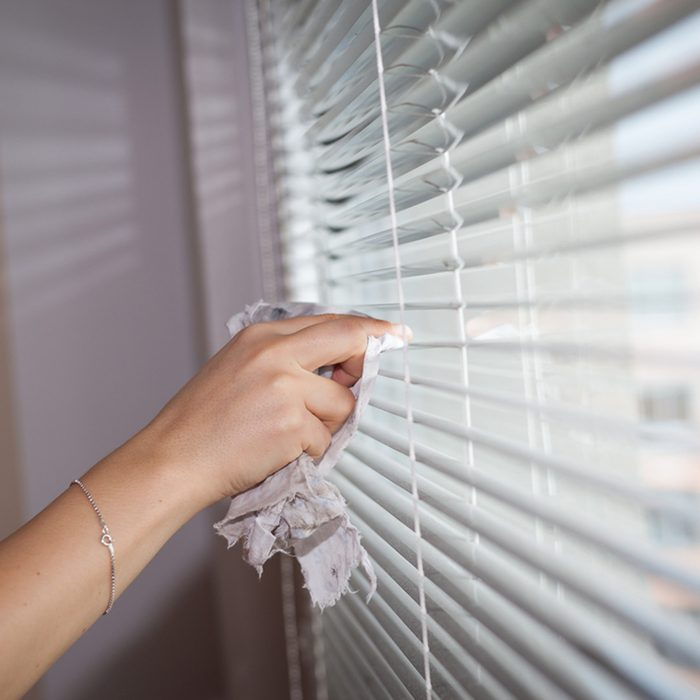 Clean the Blinds and Wash the Curtains