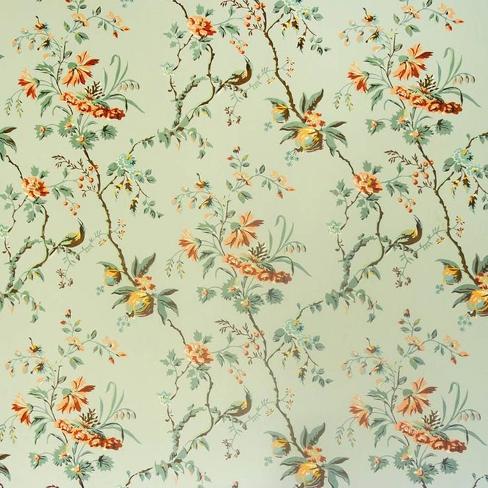 Dated: Old Wallpaper and Borders
