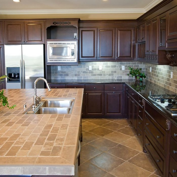 Dated: Tile Countertops