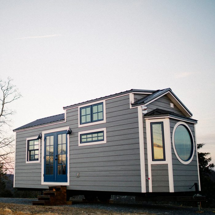 Wind River Monocle Tiny Home Has Two Sleeping Areas