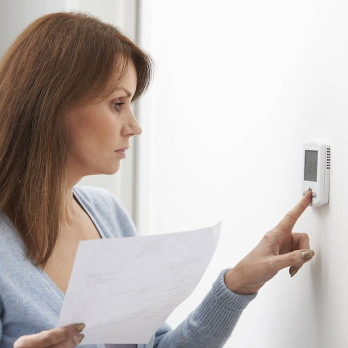 Move Thermostat Settings Down Three Degrees